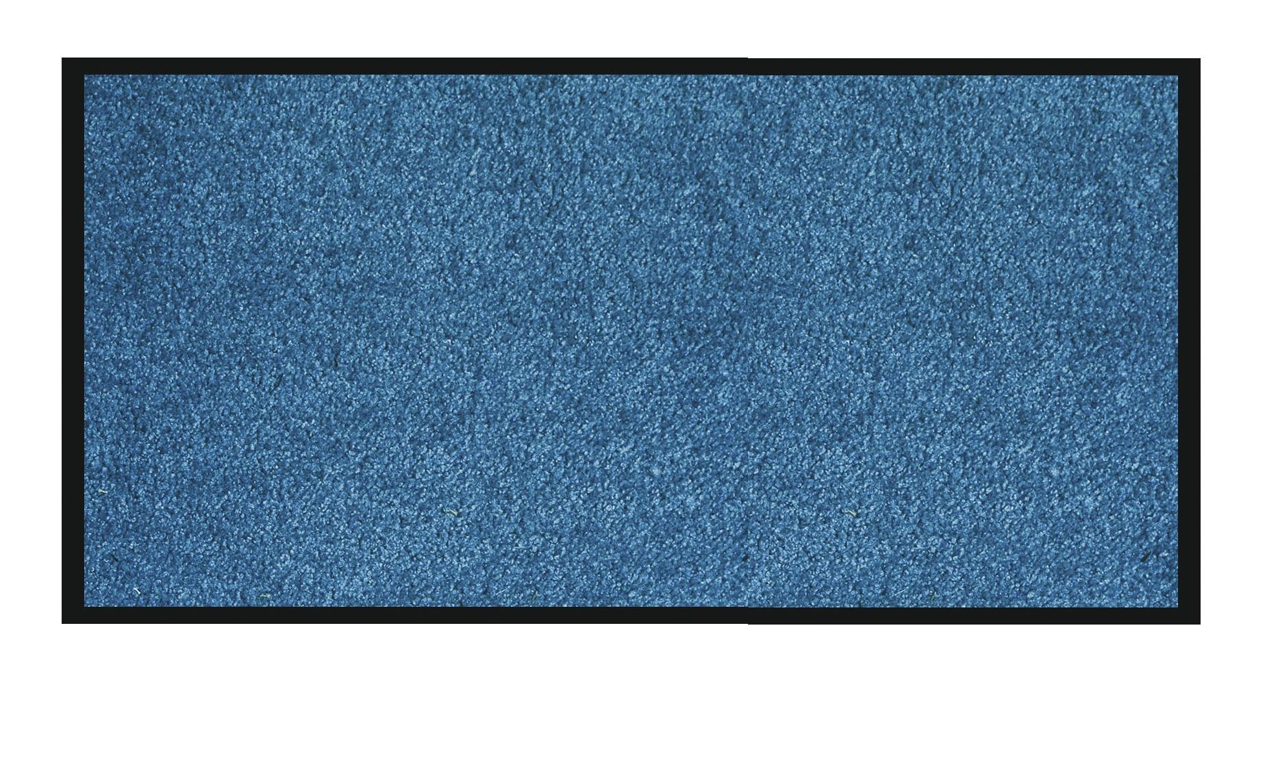 Tapis de sol absorbant RAINBOW - 90 x 150 cm - en polyamide - bleu