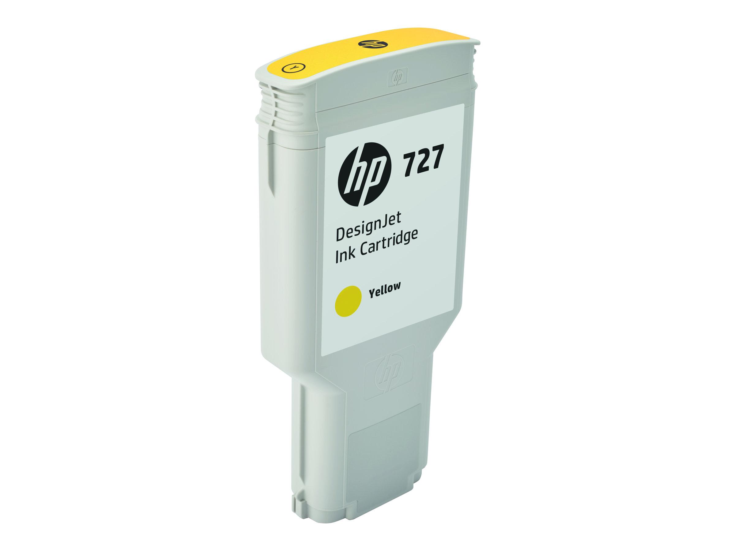 HP 727XL - jaune - cartouche d'encre originale