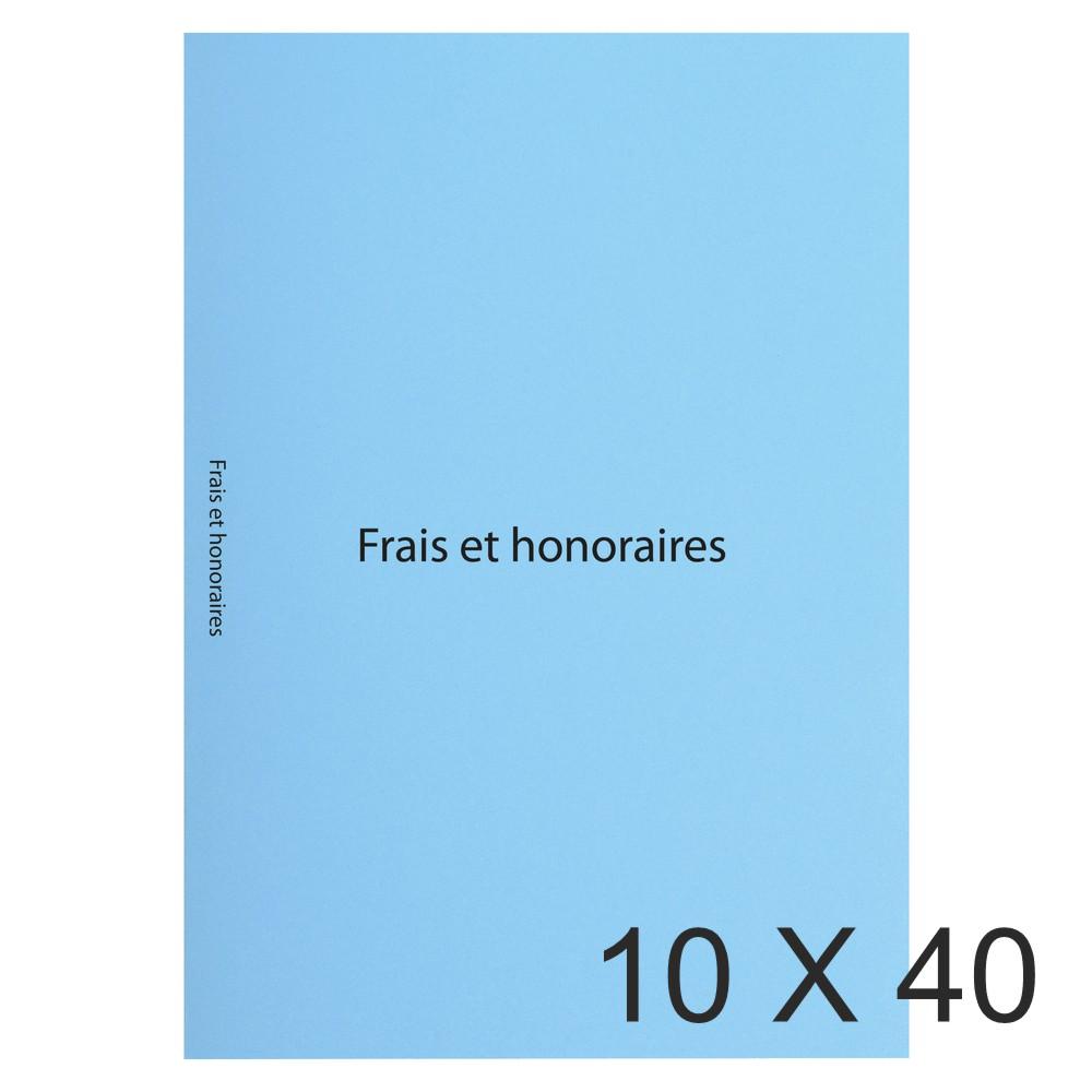 Exacompta - 10 Paquets de 40 Sous-chemises imprimées