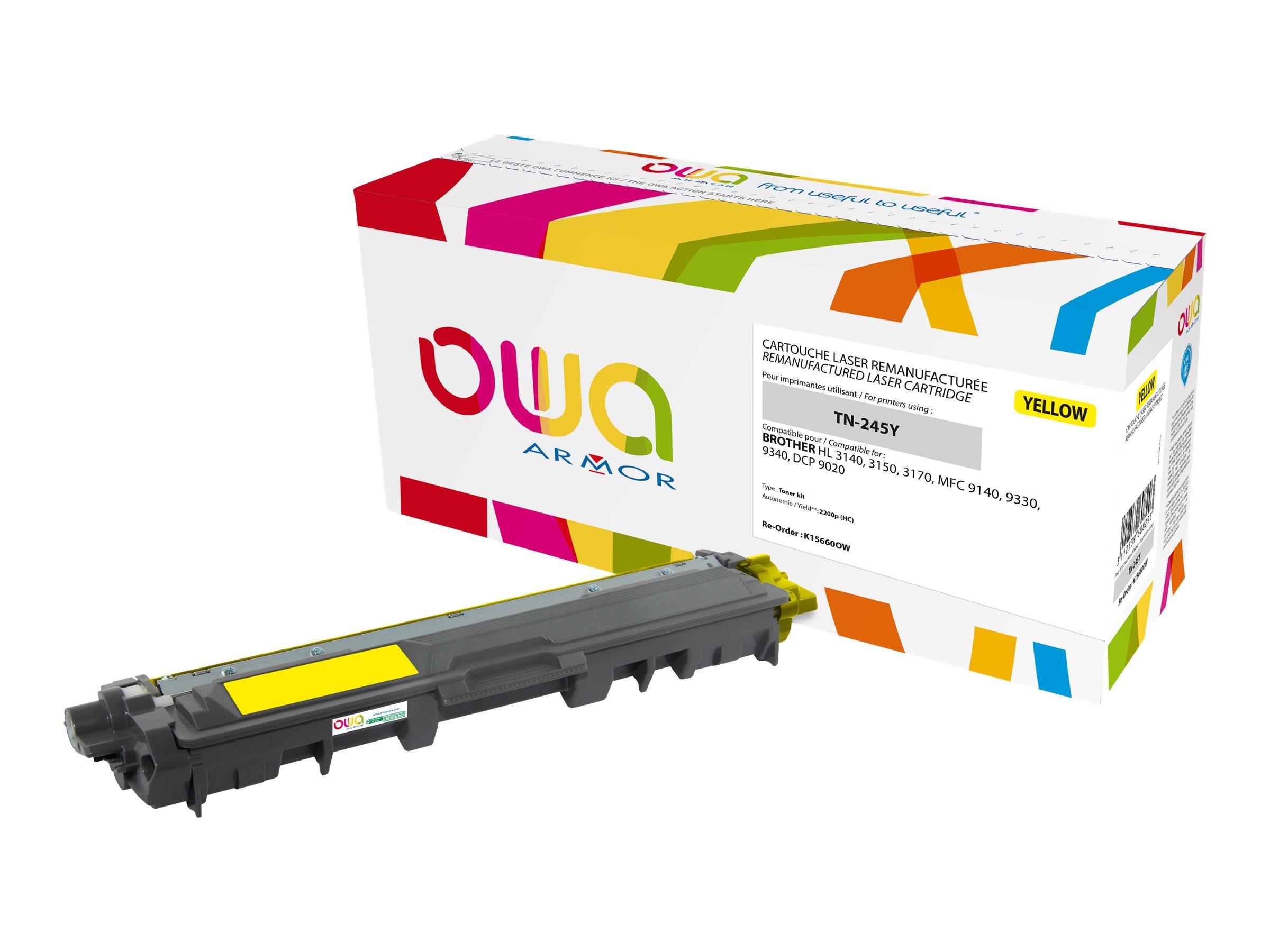 Brother TN245 - remanufacturé Owa K15660OW - jaune - cartouche laser
