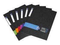 Oxford Power File - Chemise à rabats - A4 - disponible dans différentes couleurs