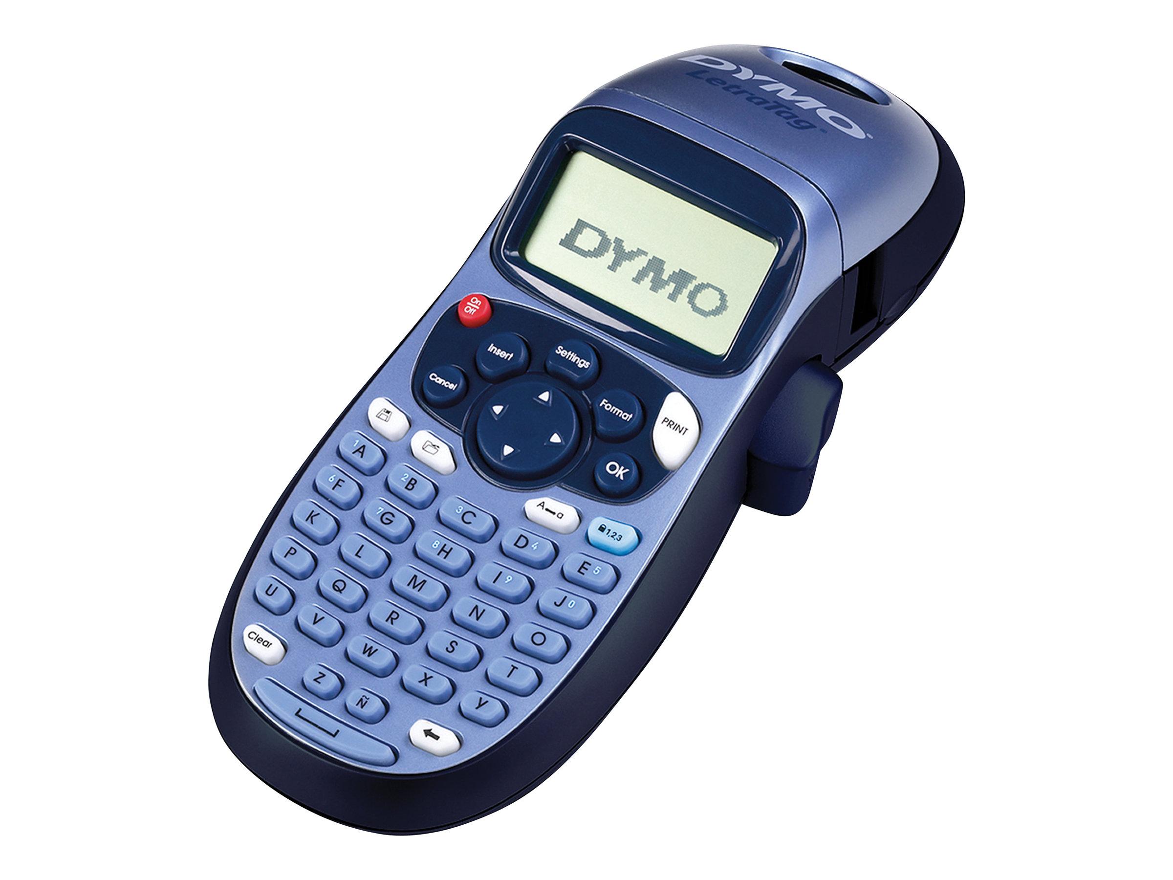 Dymo LetraTag LT-100H -  Étiqueteuse  - imprimante d'étiquettes monochrome  - impression par transfert thermique
