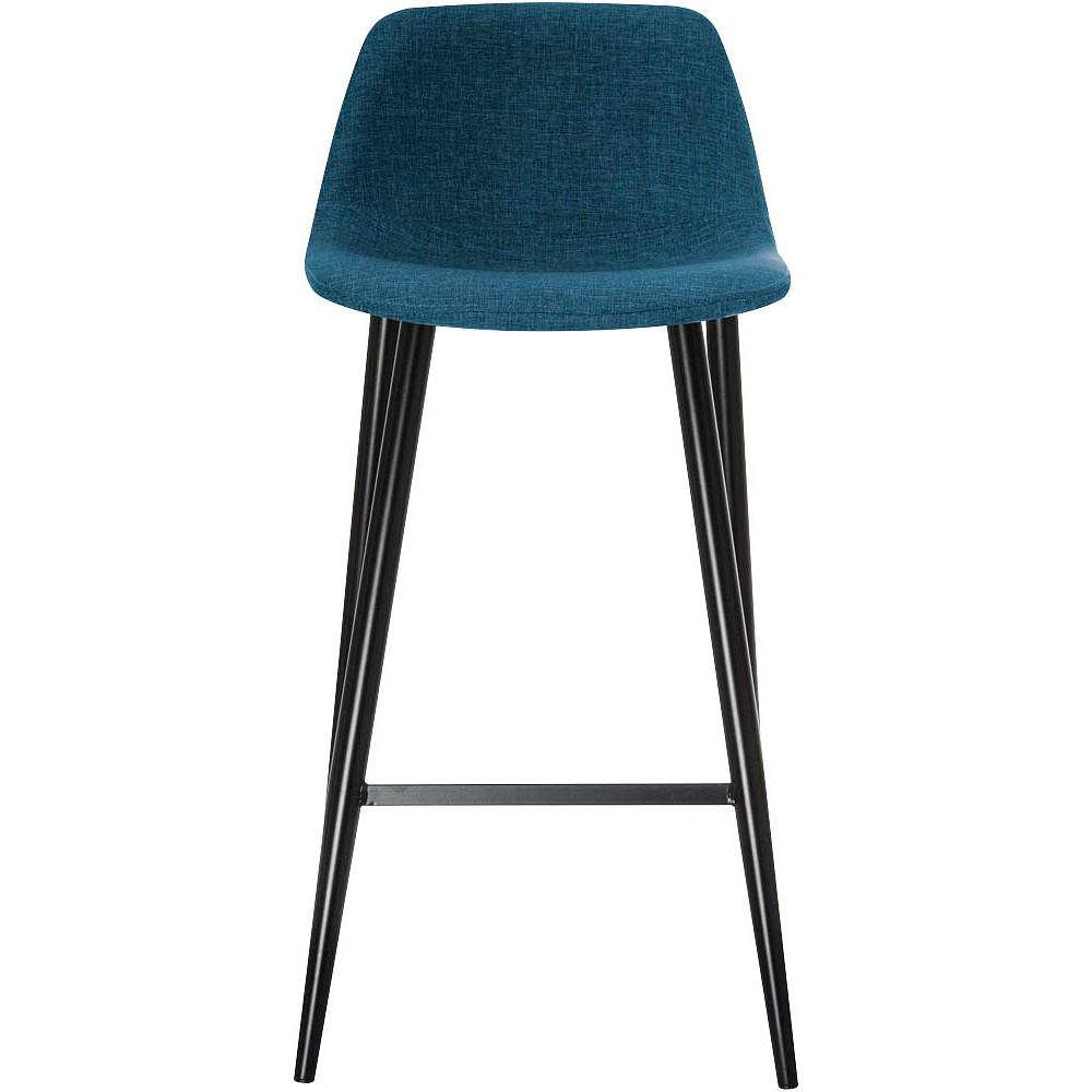 Tabourets MUST - pied noir - assise bleue
