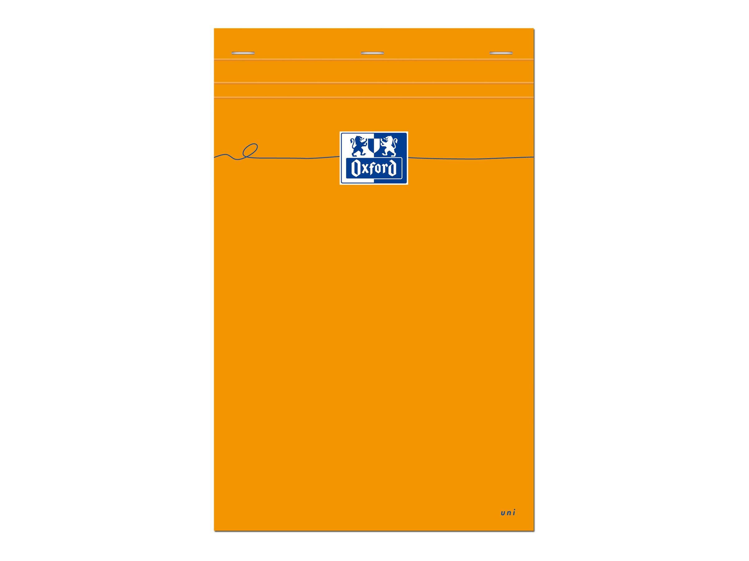 Oxford - Bloc notes - A4 + - 160 pages - blanc - 80G - orange