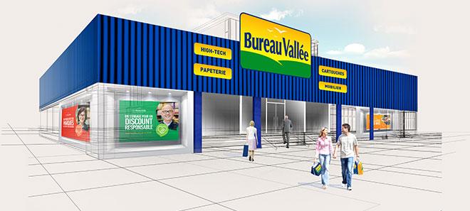 Ouvrez votre franchise Bureau Vallée