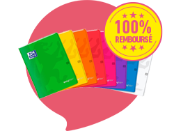 CAHIER 24 X 32 CM 96 PAGES EASYBOOK