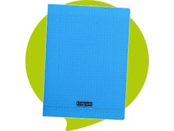 Cahier Polypro 24x32 cm - 96 pages - Seyes