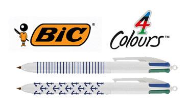 Un BIC® 4 Couleurs aux couleurs du grand large !